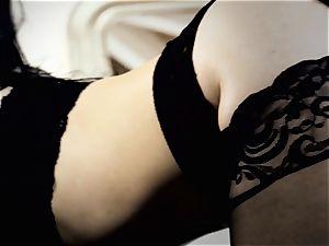 Nylons Sn 3 super-fucking-hot Katrina Jade plumbed doggy style in stocking