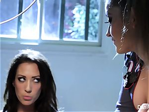 Bad woman Capri Cavanni gets penalized by Dani Daniels