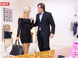 LETSDOEIT - Tailor Seduced And plumbs youthfull client