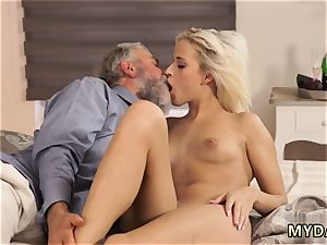 elderly shaved man gangbang porking Surprise your girlcomrade and she will pulverize with your parent