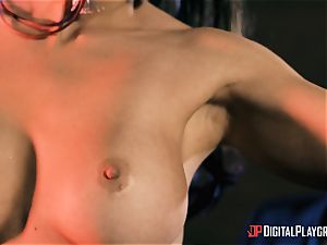 Abigail Mac takes on the monster spear of Danny D