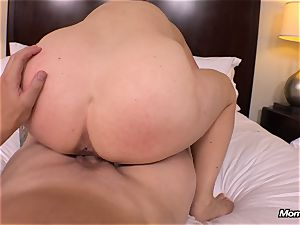 thick all-natural melons mummy gets xxx boinking