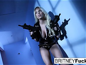 The Golden Implant Heist with Britney Amber