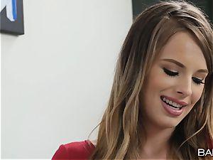 impatient lil' milky talent agent Jillian Janson craves big black cock