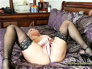 fill Up the Strippers gaping gash with Ms Paris Rose