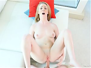 first ass-fuck episode with insane Bonnie Grey
