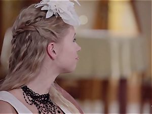 PINUP hook-up - adorable Czech platinum-blonde loves sensuous penetrate