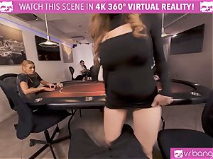 VRBangers.com-Busty babe is tearing up firm in this agent
