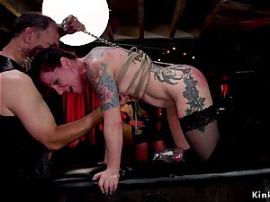 ass fucking fucksluts servicing guests at bondage & discipline party
