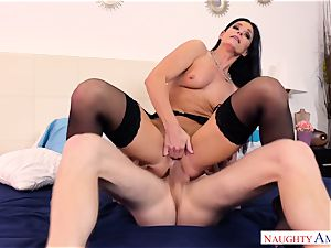 India Summers poked in her sphincter