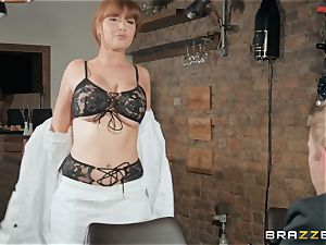 Danny sticking his hefty fuck-stick into sizzling ginger-haired