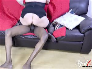 AgedLovE Lacey Starr and black dude gonzo
