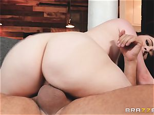 splendid nubile Amilia Onyx facialized after after plowed deep