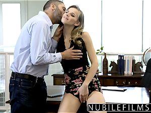 NubileFilms - Office mega-slut banged Till She sploogs