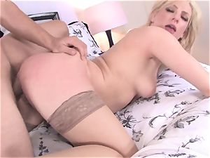 seeing Bailey Blue romped rigid in tights