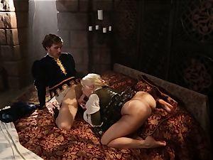 torrid goddess Anikka Albrite awoken with a ravage
