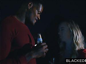 BLACKEDRAW boyfriend with cheating desire shares his blondie girlfriend