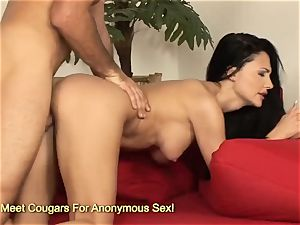 awesome Aletta Ocean jumping on humungous pipe