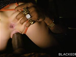 BLACKEDRAW supah Model shakes With enlivenment For big black cock