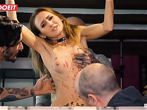 LETSDOEIT - Kira Gets raunchy torment at sadism & masochism party