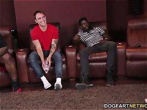 big black cock three way with Karlee Grey - cuckold Sessions