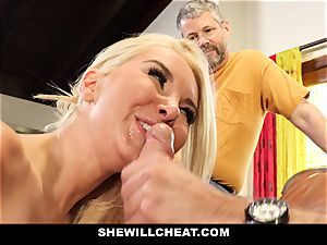 SheWillCheat - Step mom Cheats on Traveling hubby