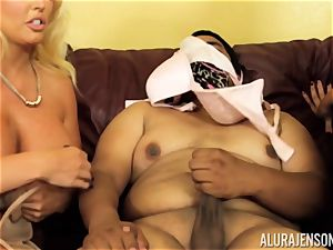 Alura Jenson gets a bit wild and embarks to spank