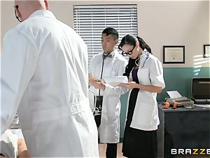 Ryder Skye takes her doctor to the final level