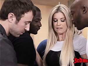 educator India Summer fed cum after IR gangbang
