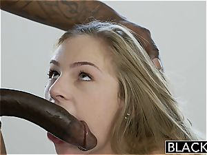 BLACKED daughter Sydney Coles first big black cock