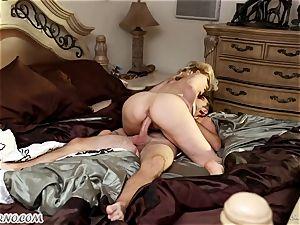 dude fucks his wild gf spectacular mature mother