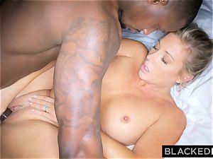 BLACKEDRAW blondie trophy wife Cucks Her hubby With big black cock