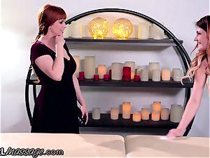 lezzie teenager massagist Adria Rae