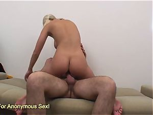 huge udders blond babe booty ravaged stiff by gigantic trouser snake