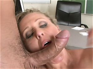Julia Ann is a hard-core milf who wants to put her vagina on a rigid weenie