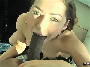 fuck-fest tape interracial plow with Melissa Moore