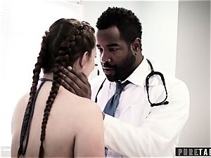 Maddy O'Reilly Exploited into bbc ass fucking at Doctors examination