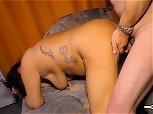 HausfrauFicken - first-timer plumb with chubby German wife