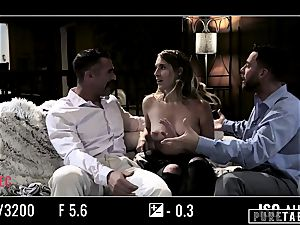 unspoiled TABOO honey Tricked Into revenge threesome with Strangers