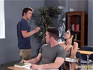 big-chested schoolteacher Ava Addams is poked by her student