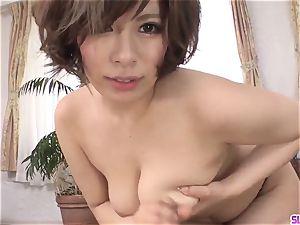 bare milf Ririsu Ayaka faceholes penis in fabulous gig
