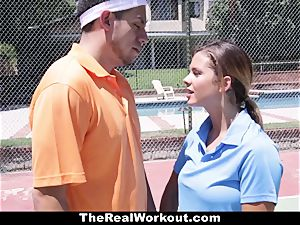 TheRealWorkout Keisha Grey boinked After playing Tennis