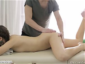 dual lubricated massage. She thought she was so right