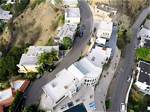 Drone catches Rachele Richey in act