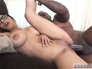 Ladywoman self facial cumshot Mia Khalifa attempts A meaty black manstick