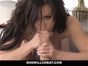 SheWillCheat torrid wifey Cheats with hubbies playmate