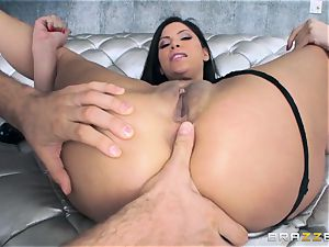 Alexa Nicole gets caboose cork and pecker in her steaming culo